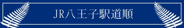 JR八王子駅道順